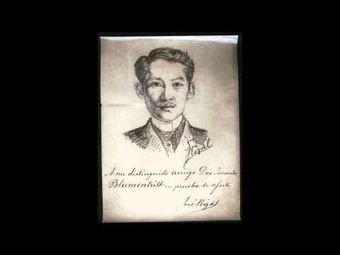 Mi último adiós, de José Rizal [ Antología de poesía filipina]