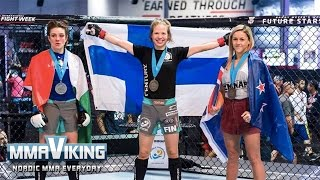 Minna Grusandar Wins Gold - Post Fight Interview