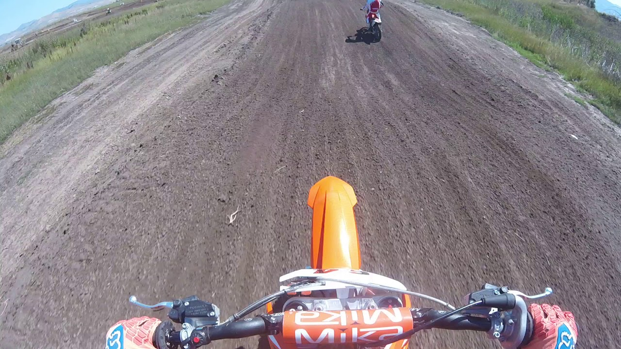 2018 ktm 85 big wheel.  ktm brand new 2018 ktm 85 firts race in preston idaho with ktm big wheel