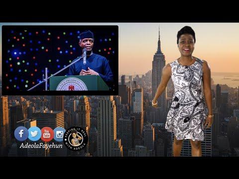 60th Independence: Osinbajo Fears Nigeria May Breakup; Togo Gets Female PM; Rwanda's Kizito Honored