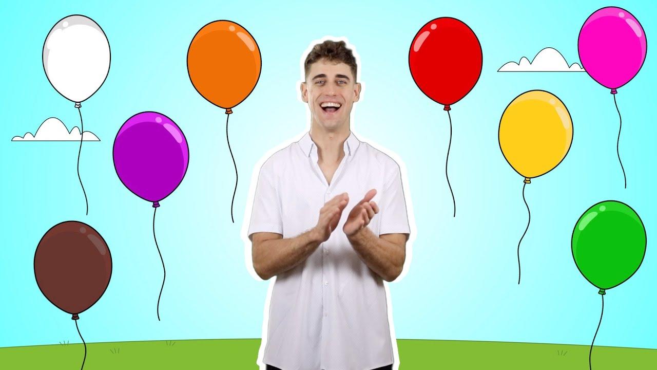 ¡Aprende los colores en inglés! | Enseña colores a los niños con Adam