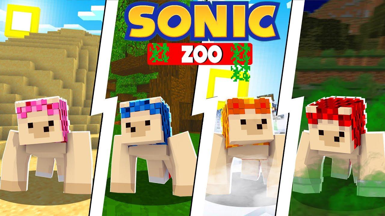 Download NEW Pet Hedgehog Zoo! [107] | Sonic The Hedgehog 2 | Minecraft