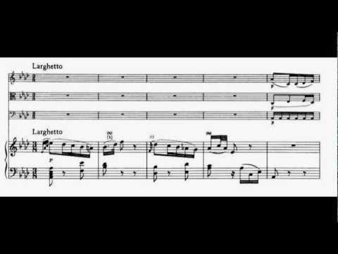 Mozart - Piano Quartet KV 493 - II mov. Larghetto - Quartetto Anthos
