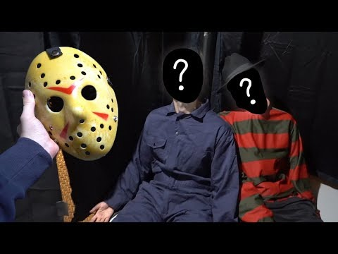 I Finally UNMASKED JASON And FREDDY At The Same Time AND You Won't BELIEVE THIS!! *SCARY*