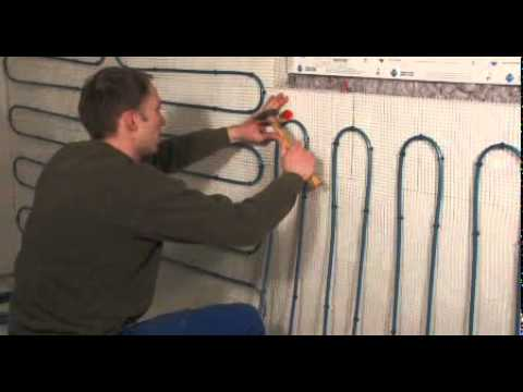 Panel heating system with mats for homes wall heating for In wall heating system