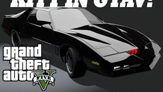 Knight Rider Mod (KITT 6.0)  Installation Guide- GTAV