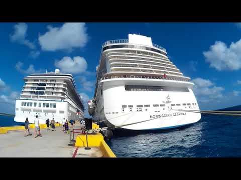 Cruise Ships Docked (Norwegian Marina Carnival) Mexico