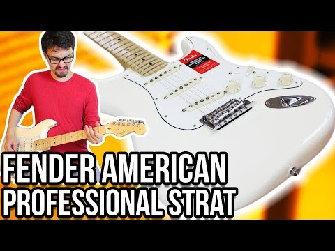 Fender American Professional Strat Demo/Review || The American Standard Series Replacement!!