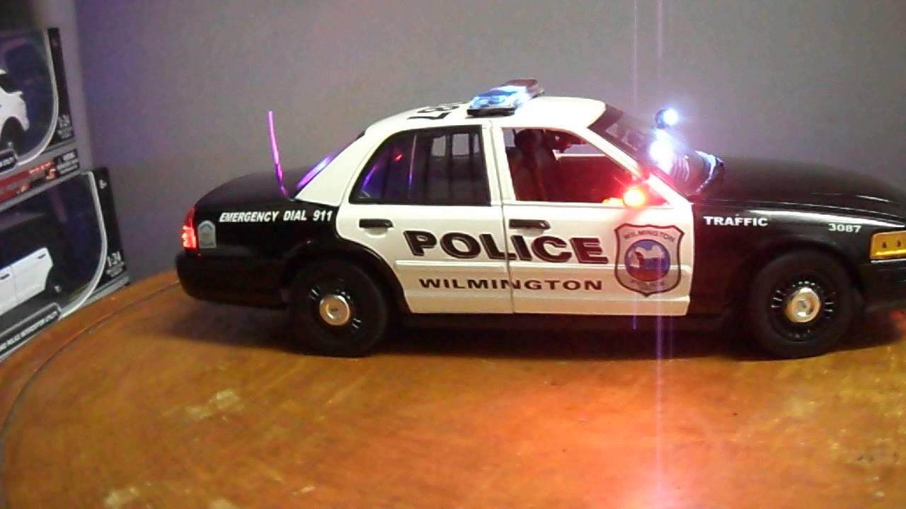 1 18 Wilmington Delaware Police Car Lights And Siren