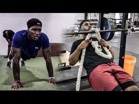 Top Speed and Upper Body Training
