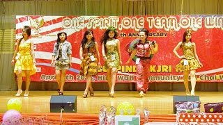 8th Anniversary Golpindo KJRI HK - Fashion Show Batik Casual