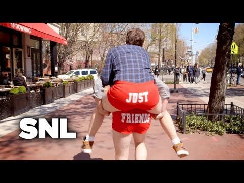 Just Friends Booty Shorts  SNL