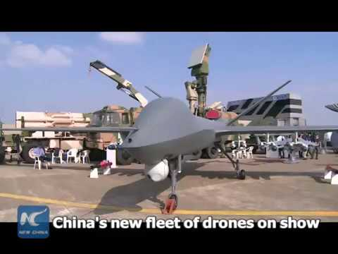 China's new fleet of drones displayed at air show in Zhuhai