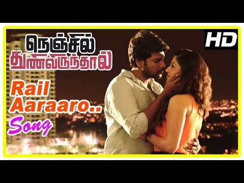 Nenjil Thunivirunthal Movie Scenes | Rail Aaraaro Song | Sundeep Kishan And Mehreen Go On A Date