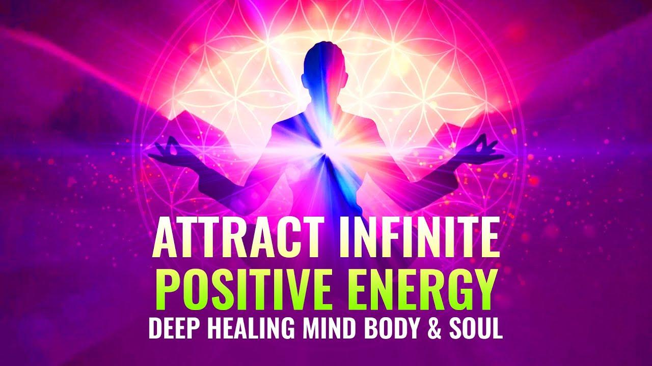 Attract Infinite Positive Energy ⬖ 444 Hz ⬖ Deep Healing Mind Body & Soul, Binaural Beats