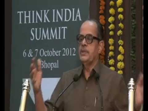 Prof N R Madhav Menon on Vision for Legal Education in India at THINK INDIA SUMMIT (1/2)