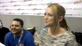 How not to Interview Hannah Spearritt at Newcastle Comic Con