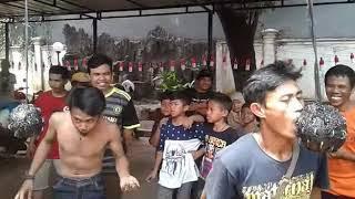 PPSU Kelurahan Duren Sawit lomba gigit duit 17 Agustus 2017