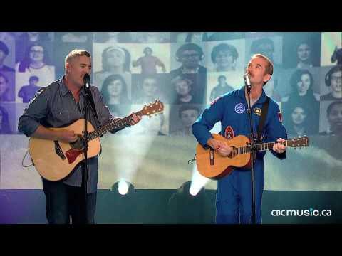 Chris Hadfield & Ed Robertson of BNL | Is Somebody Singing (LIVE)