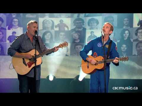 Chris Hadfield & Ed Robertson of BNL | Is Somebody Singing (LIVE)