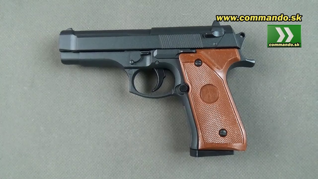 Airsoft Pistol Galaxy G22 Manual 6mm