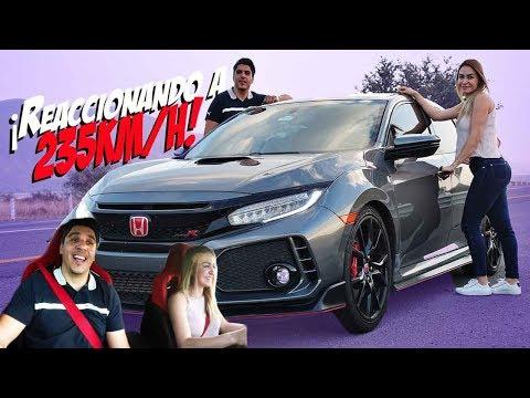 Reaccionando al poder de un Honda Type R en Carretera / Marco MAAP