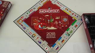 Fifa World Cup 2018 Russia Edition Monopoly