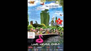 Dubfire - Live @ Street Parade 2017 Love Never Ends (Zurich, Switzerland) - 12-AUG-2017