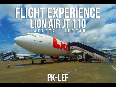 flight experience   Jakarta - Jeddah   CGK-JED   Lion Air