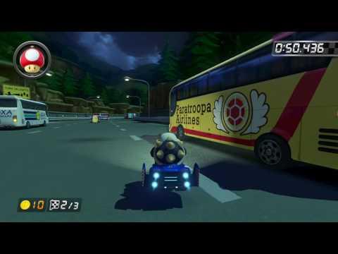 N64 Toad's Turnpike - 1:39.170 - AI (Mario Kart 8 World Record)