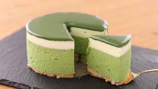 抹茶レアチーズケーキの作り方 No-Bake Matcha Cheesecake*Eggless &Without Oven|HidaMari Cooking