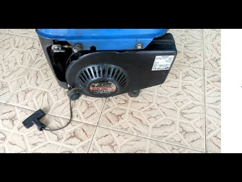 How To Fix Generator Rope That Doesn't Return Completely(partial Retract) - Small Tiger Generator