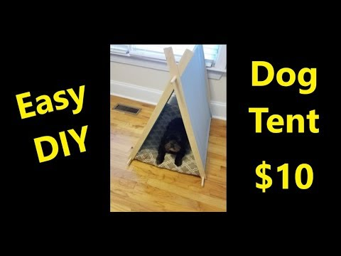 $10-easy-diy-dog-tent-bed