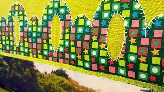Sylvia Regina – Pano de Copa com Barrado Arcos