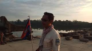 Travel to Cambodia - Sunset in Angkor Wat