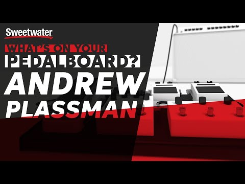 Andrew Plassman's Pedalboard — What's On Your Pedalboard?