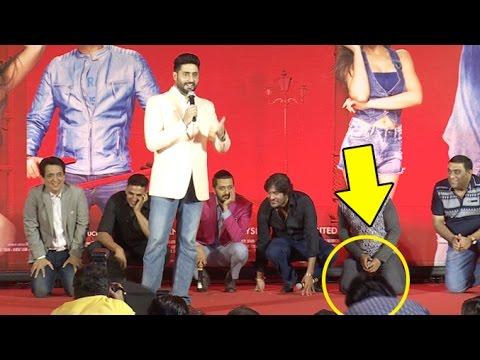 Abhishek Bachchan Trolls & INSULTS A Reporter  In Public
