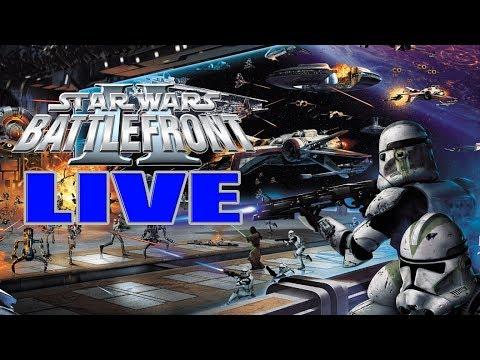 LIVE - Return to LucasArts Star Wars Battlefront 2   Clone Wars Content, & Epic Conquest Battles