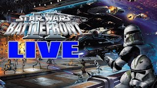 LIVE - Return to Pandemic's Star Wars Battlefront 2 | Clone Wars Content, & Epic Conquest Battles