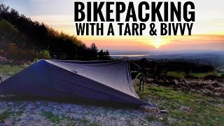 Bikepacking with a Tąrp & Bivvy | Solo Overnight Camp