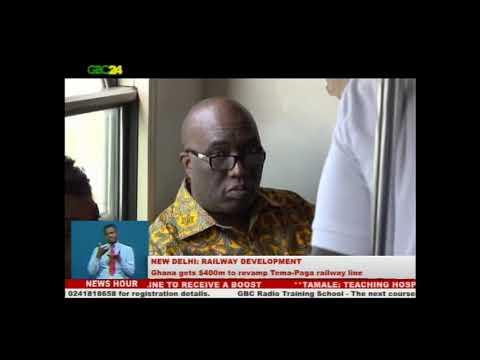 Ghana gets $400m to revamp Tema-Paga railway line