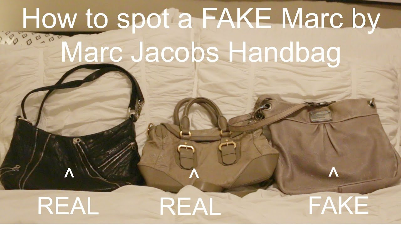 d00e2cb58f How to spot a FAKE Marc By Marc Jacobs Bag - YouTube