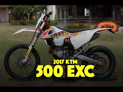2017 ktm 500 exc six days edition close look and. Black Bedroom Furniture Sets. Home Design Ideas