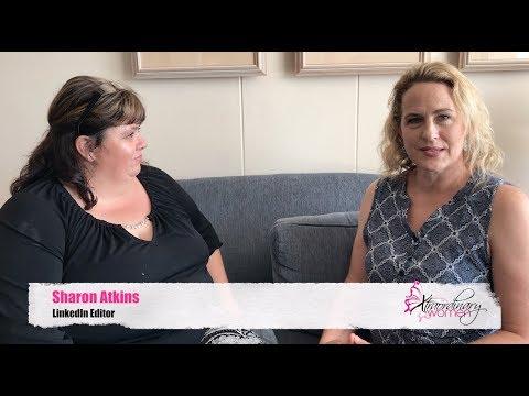 Xtraordinary Women interviews Sharon Atkins from LinkedIn Editor