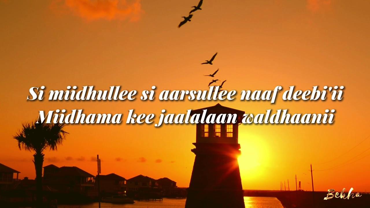 Download GALAANAA GAAROMSAA SIMBIRROO TIYYAA - Lyrics