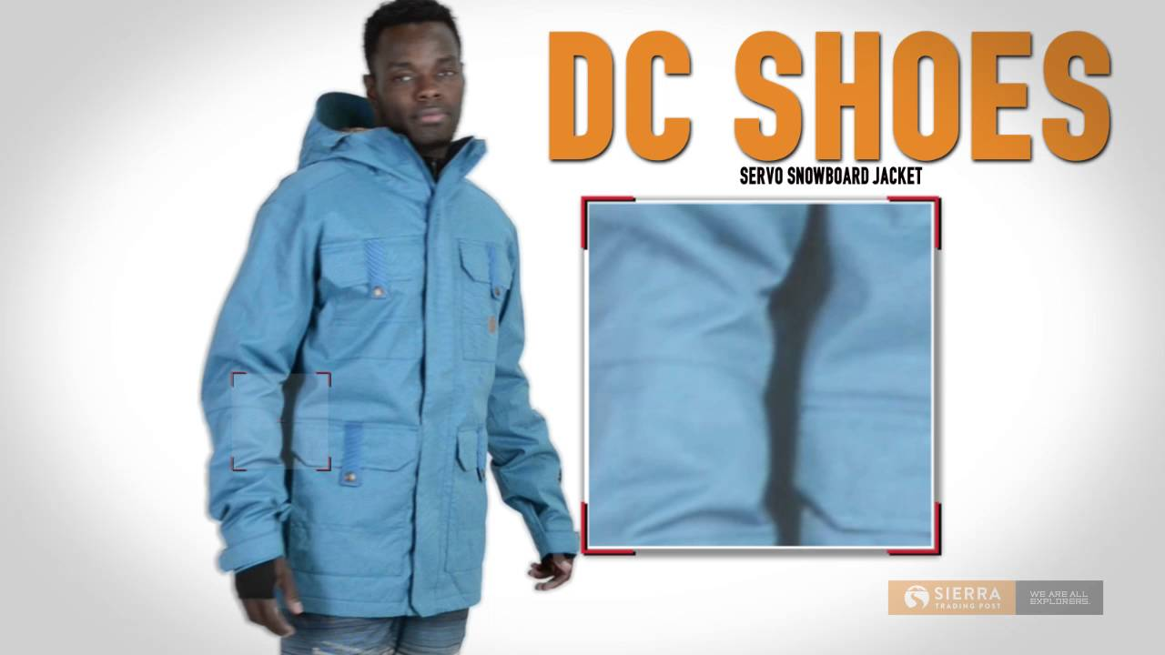 20747b8ed DC Shoes Servo Snowboard Jacket - Waterproof, Insulated (For Men ...