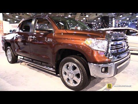 2017 Toyota Tundra 1794 Edition Exterior and Interior Walkaround 2017 NY Auto Show