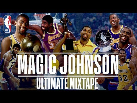 The NBA drops an Ultimate Magic Johnson mixtape....some of these passes are ridiculous.