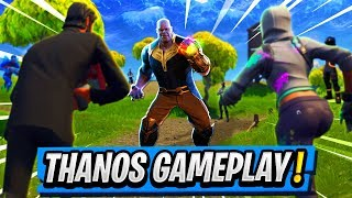 Killing & Playing as THANOS! | New INFINITY GAUNTLET Gamemode! ( Fortnite Gameplay )