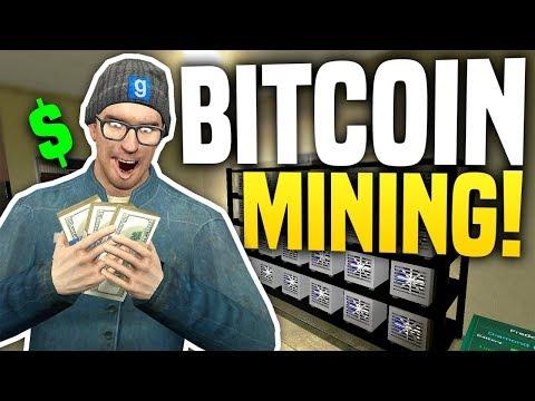 BITCOIN MINING - Gmod DarkRP | How To Make Money!